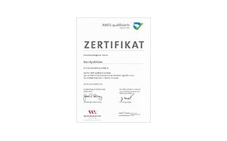 AMTS-Zertifikat