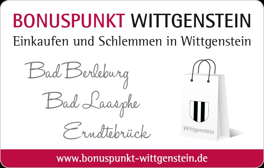 Bonuspunkt-Wittgenstein-Card