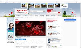 NAI informiert auf Aponet.de über Coronavirus